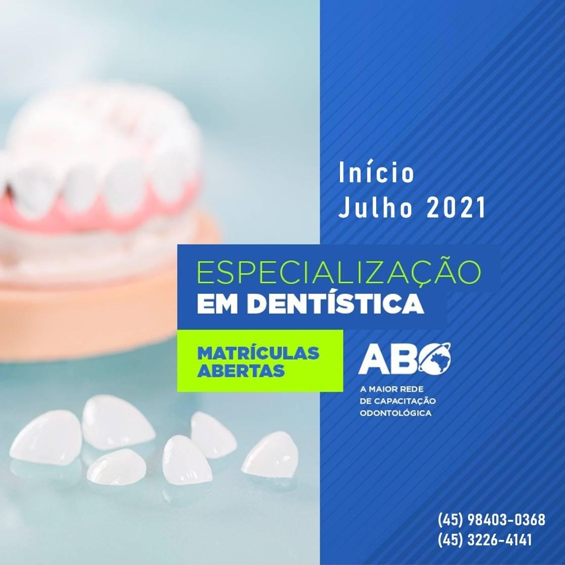Especialização em Dentísica